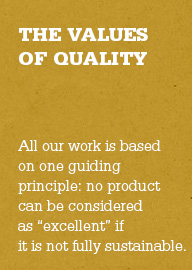 values of quality